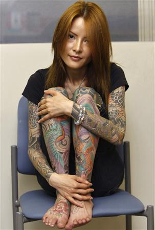 Tatto Giapponesi on Il Drago Nel Cuore  Shoko Tendo Racconta La Sua Yakuza