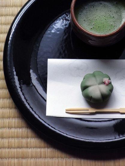 cerimonia del tè wagashi Giappone