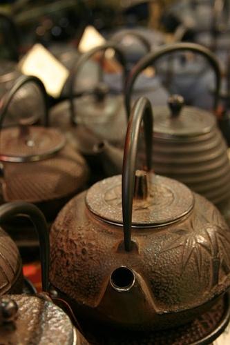 teiere giapponesi cerimonia del tè