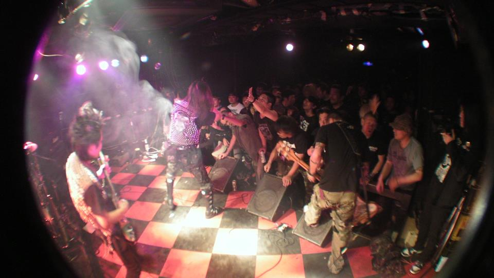concerto punk a Tokyo
