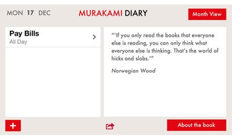 app murakami diary