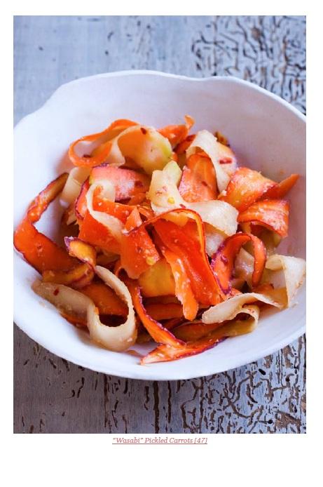 tsukemono di carote
