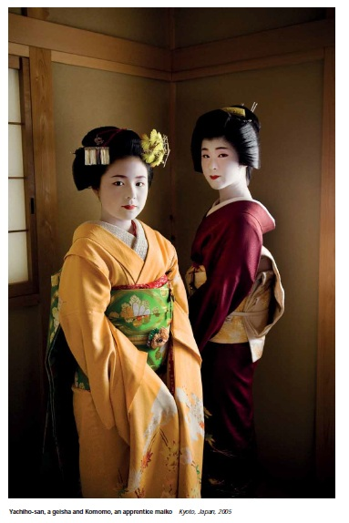 face to face geisha maiko