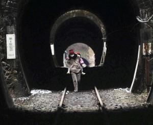 terremoto giappone tunnel