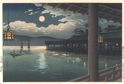 Summer Moon at Miyajima