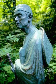 statua di basho