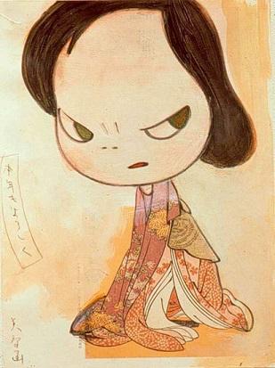 yoshimoto nara, arte giapponese, nippop