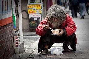 senzatetto giappone precarious japan
