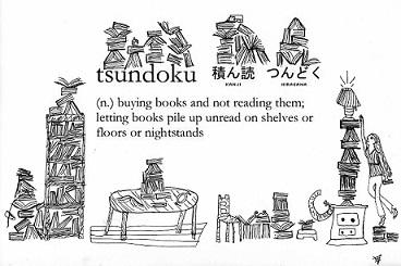 tsundoku accumulare libri giapponese
