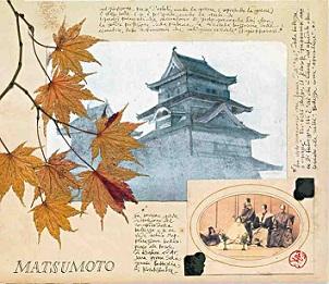Giappone faravelli carnet viaggio matsumoto libro illustrato