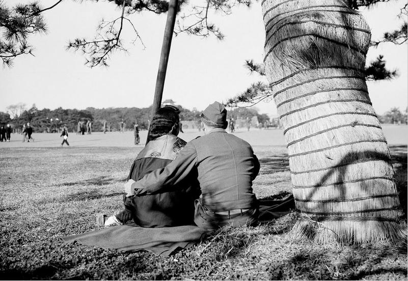 soldato americano occupazione giapponese tokyo 1946