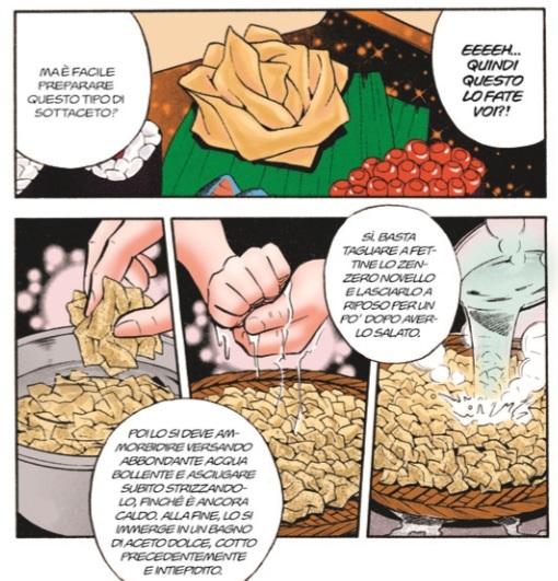 arte del sushi zenzero