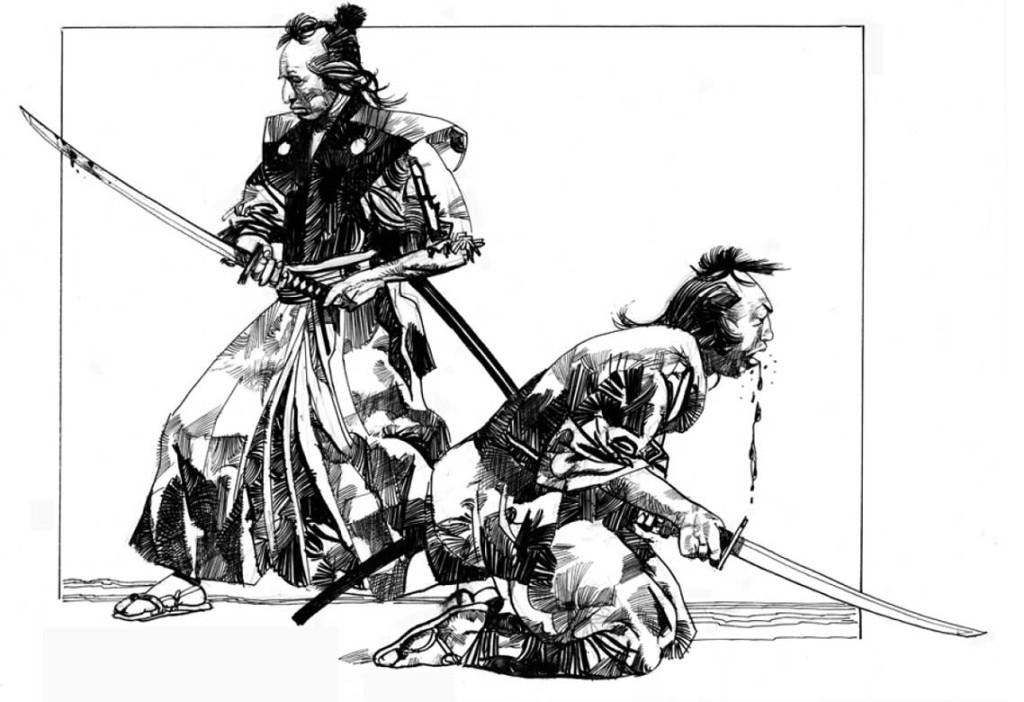 tanka sergio toppi samurai