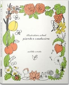illustration school piante creaturine umoto sachiko