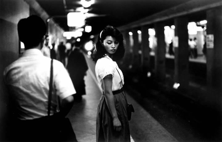 Ed Van Der Elsken, Girl in the Underground, Tokyo, 1981
