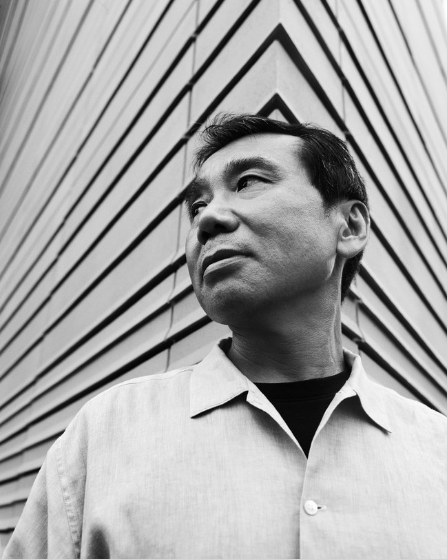 Murakami Haruki fotografato da Kevin Trageser / Redux.